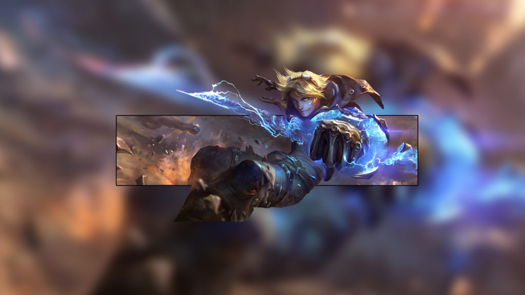 Ezreal wallpaper