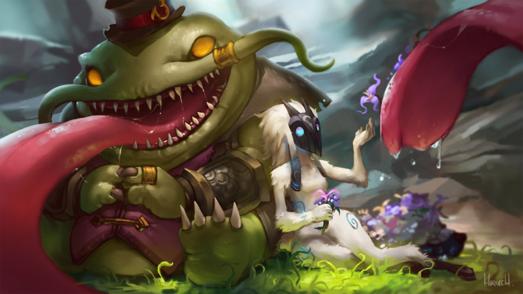 Tahm Kench & Kindred wallpaper