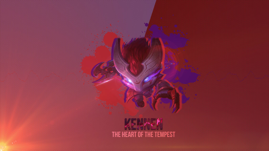 Bloodmoon Kennen wallpaper