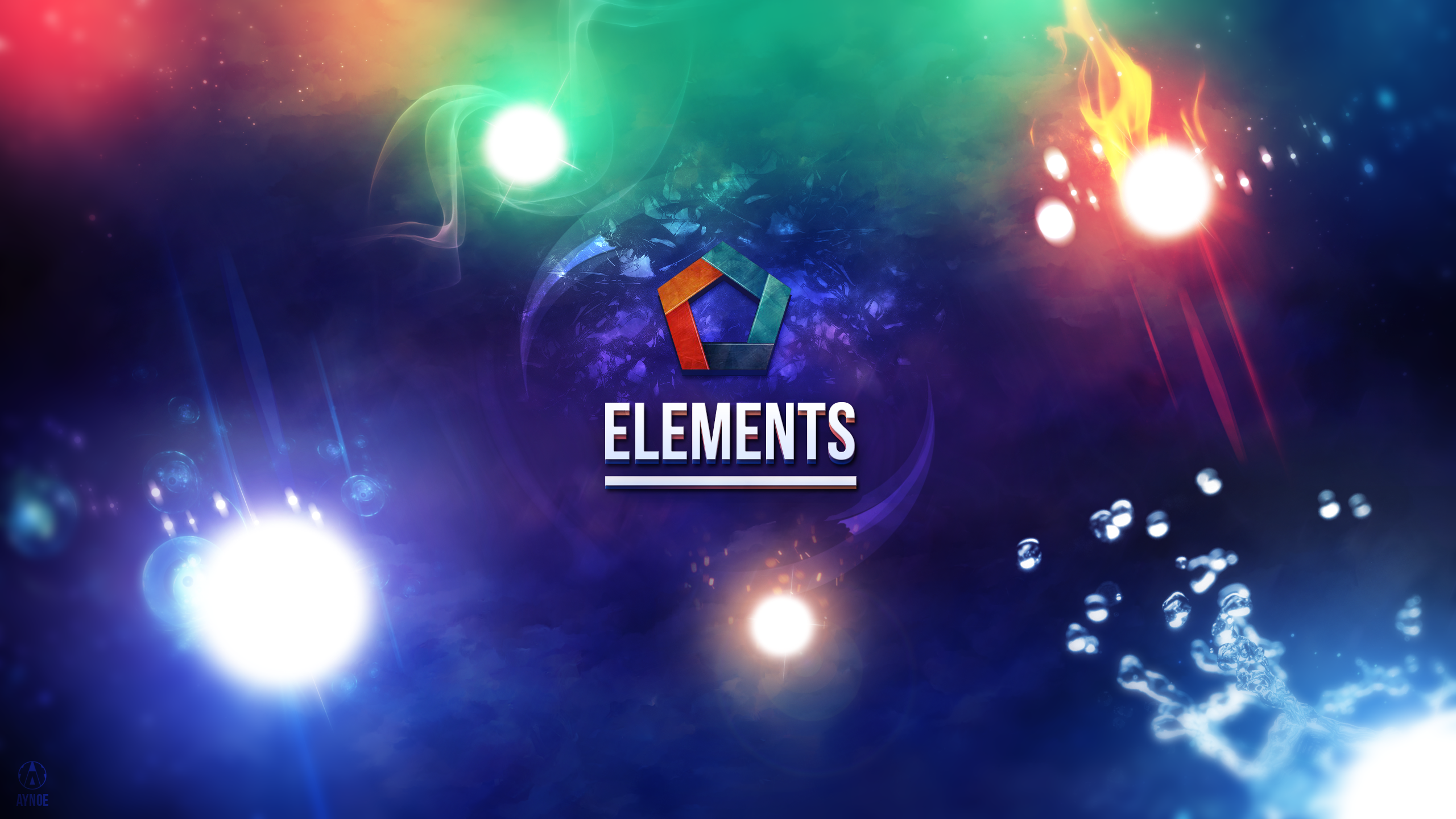 Elements wallpaper