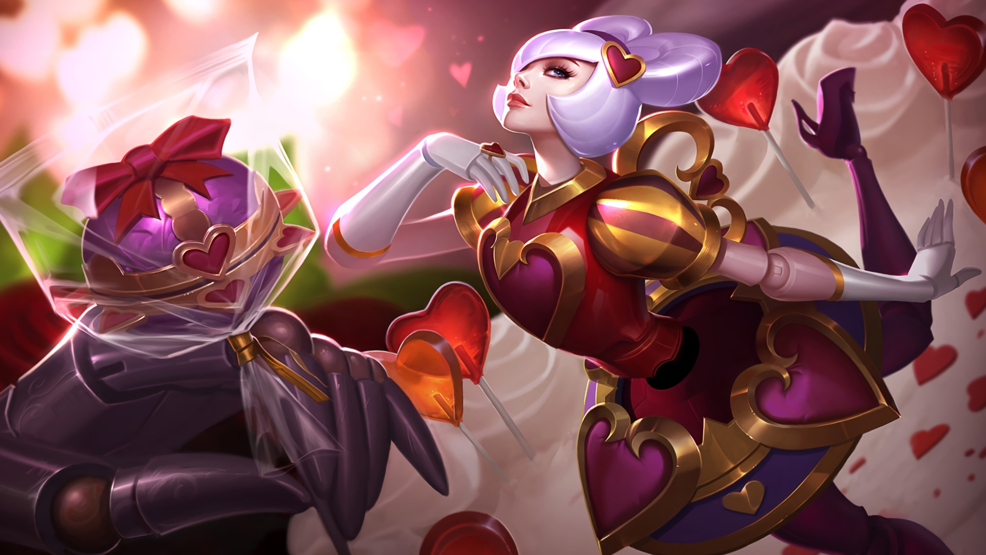Heartseeker Orianna Splash Art wallpaper