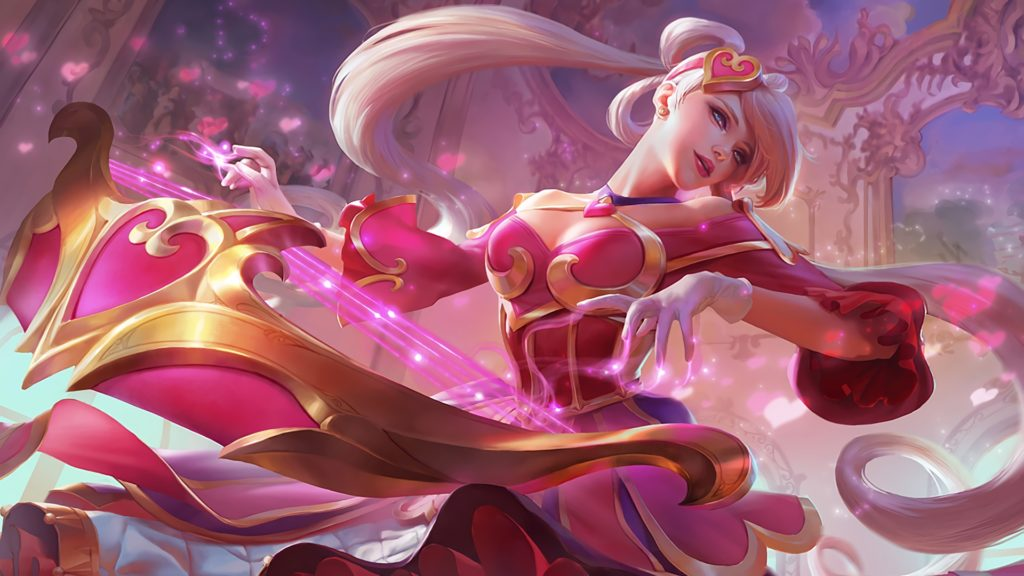 Sweetheart Sona wallpaper