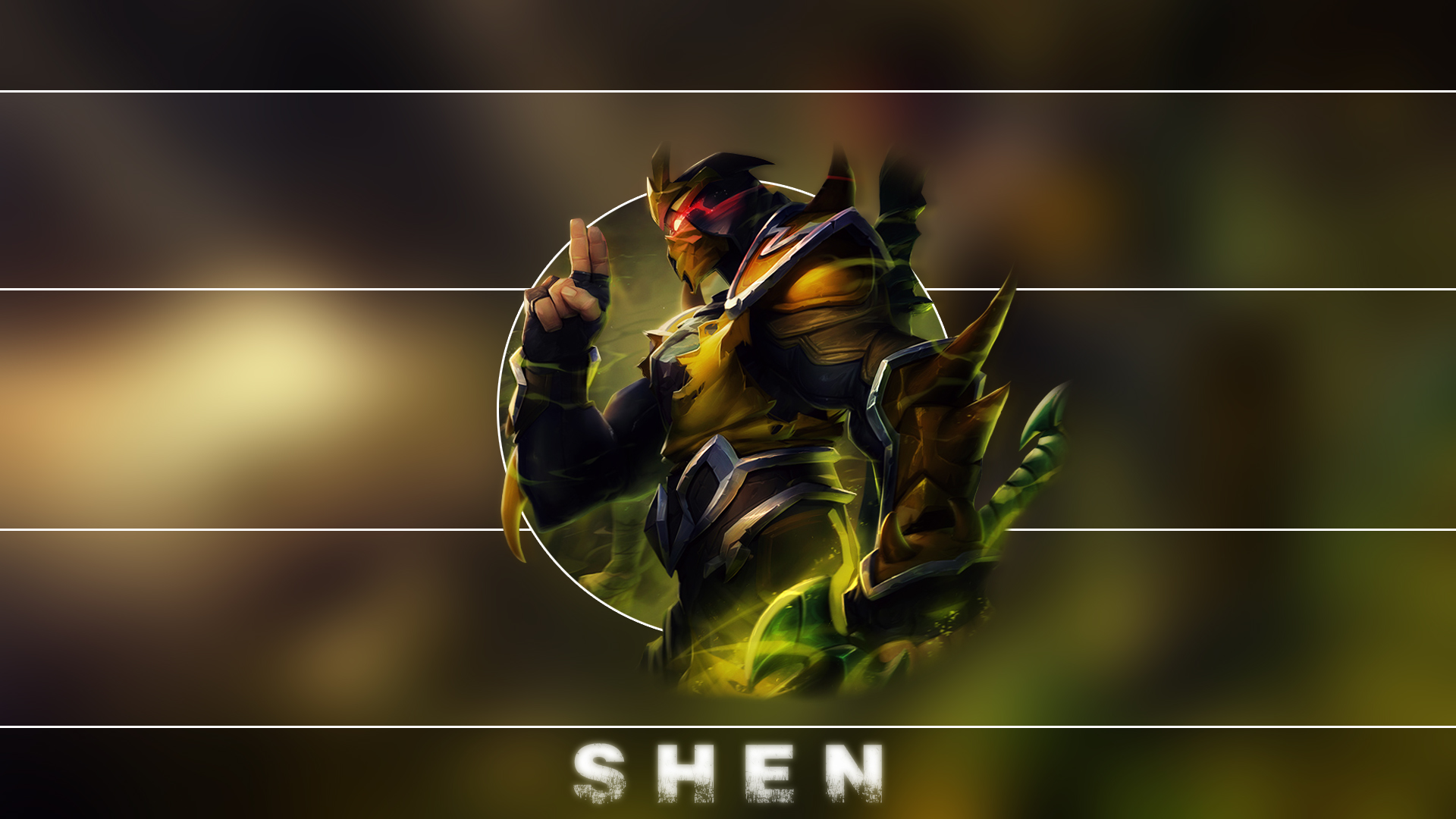 Yellow Jacket Shen wallpaper