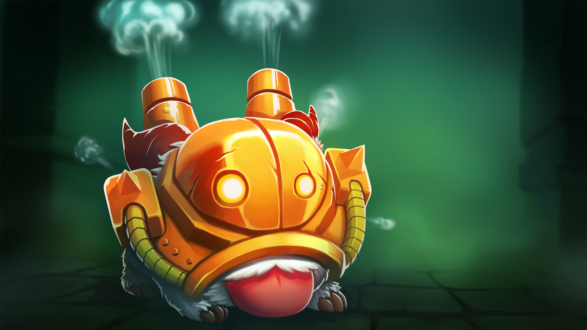 Blitzcrank Poro wallpaper