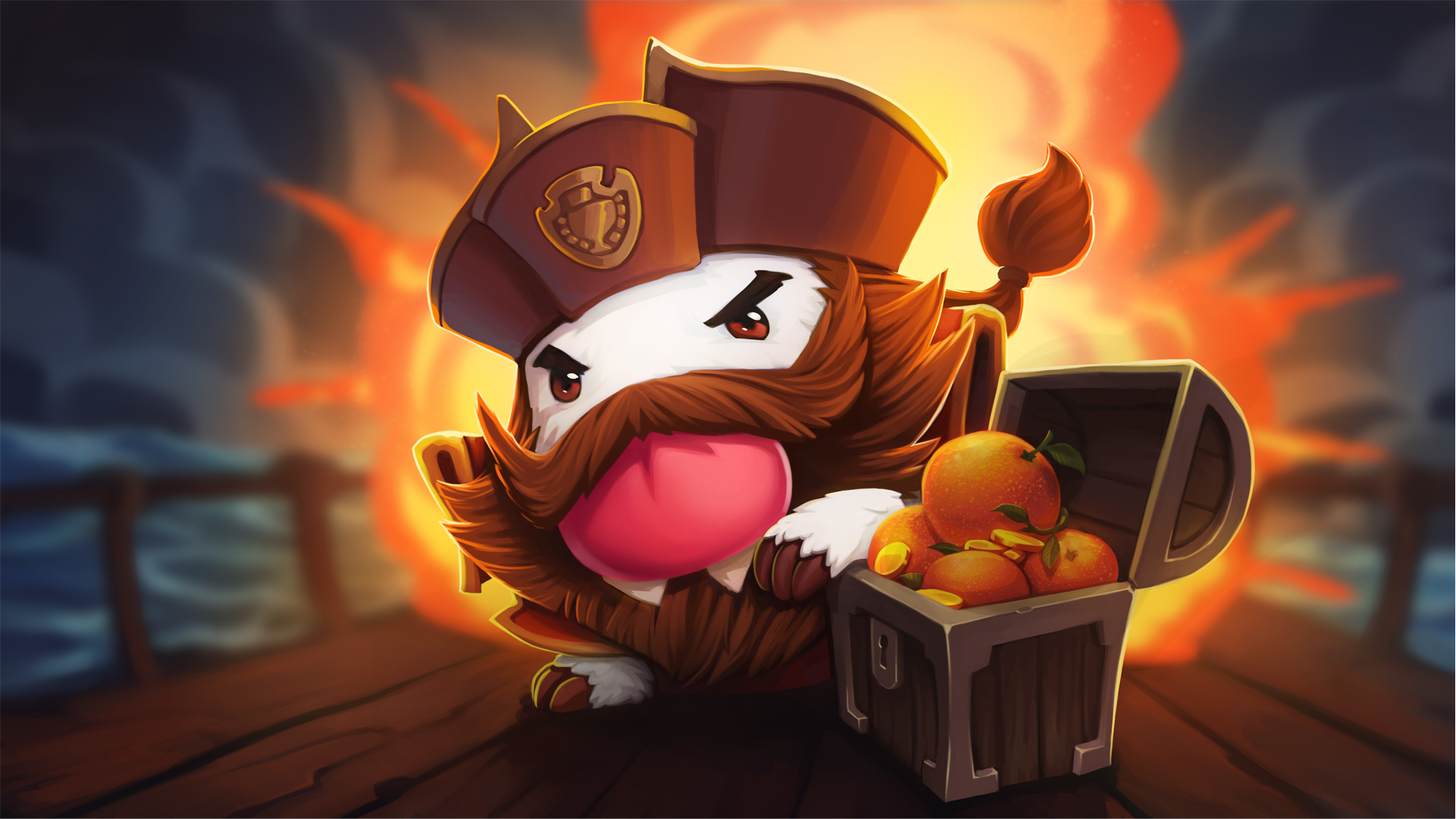Gangplank Poro wallpaper