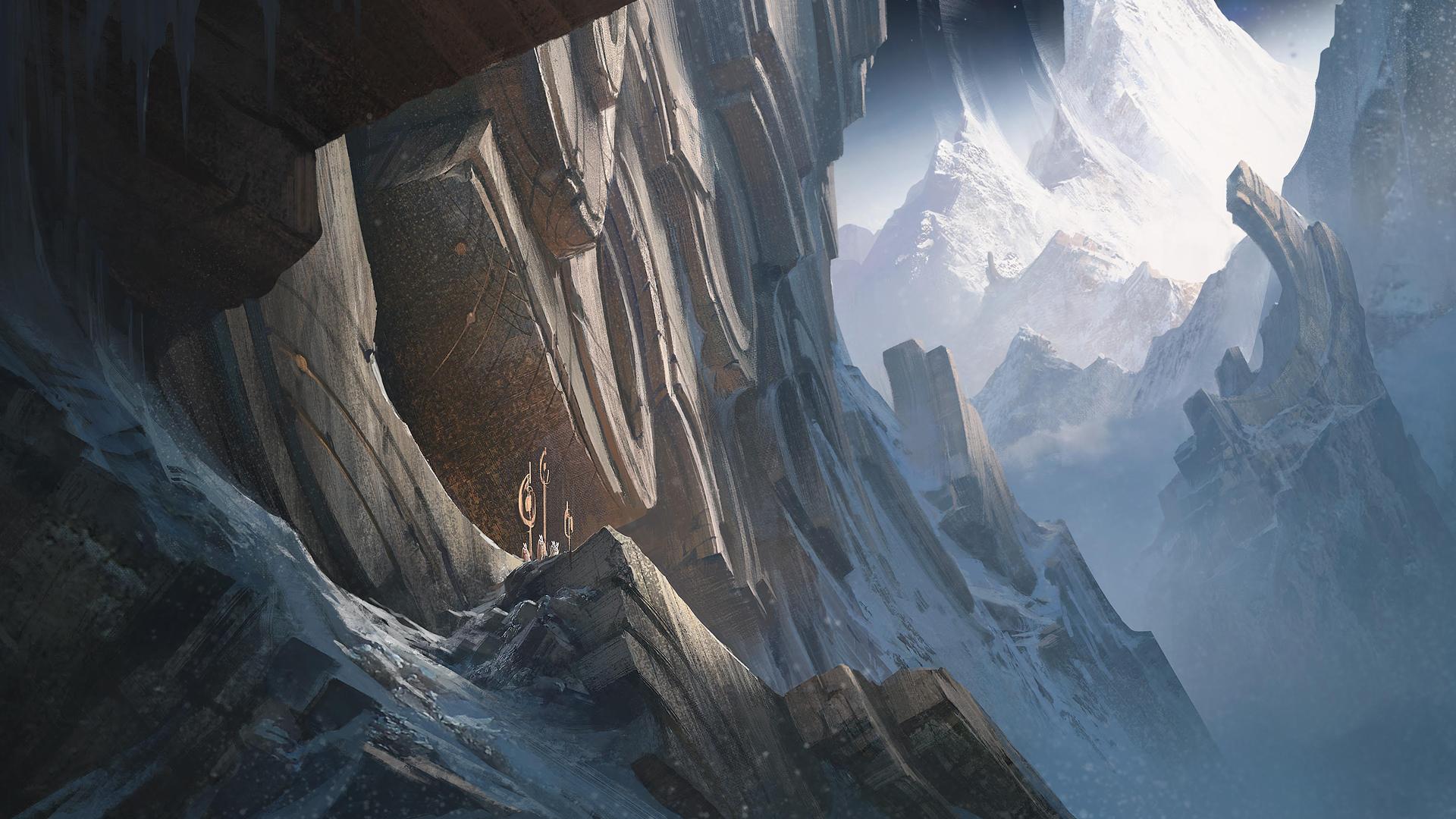 Mount Targon wallpaper