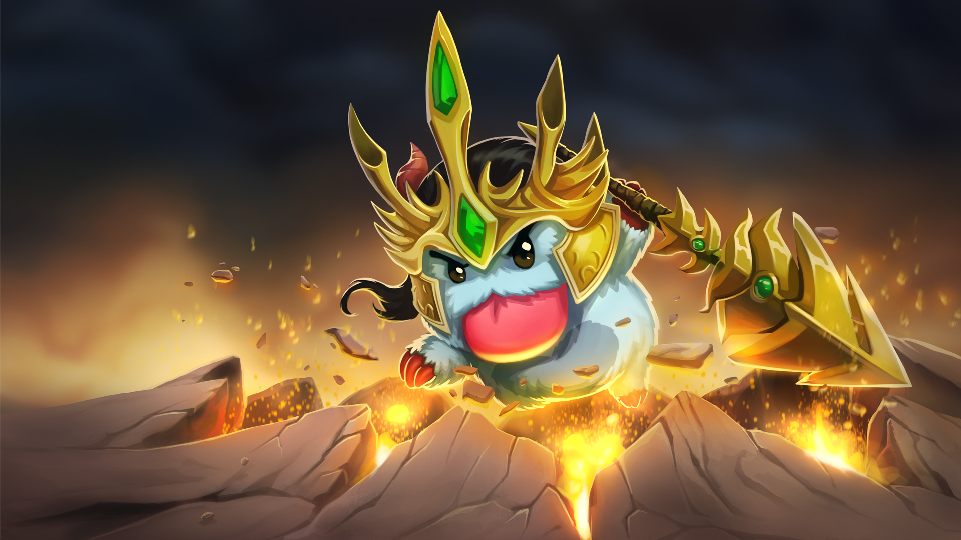 Jarvan IV Poro wallpaper