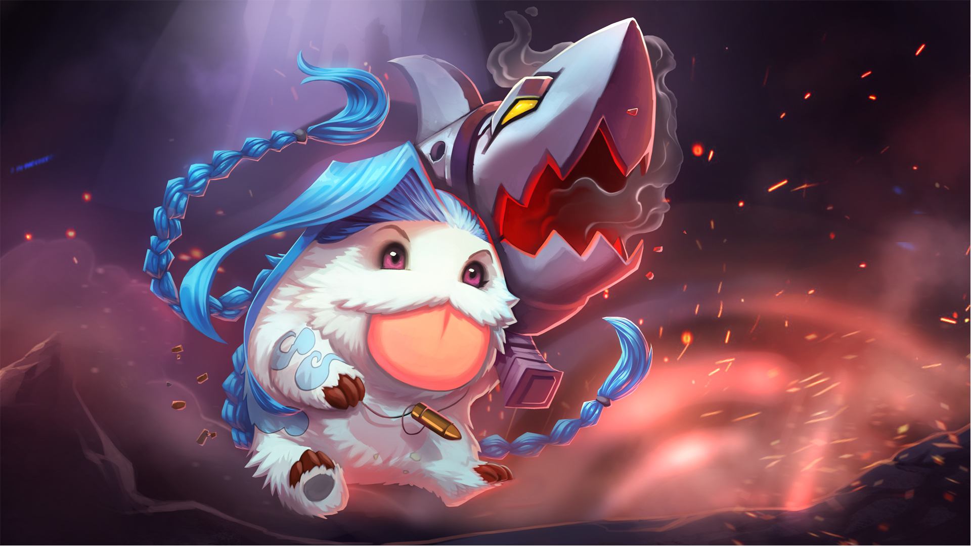 Jinx Poro wallpaper