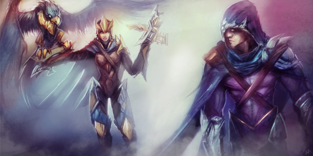 Quinn & Talon wallpaper