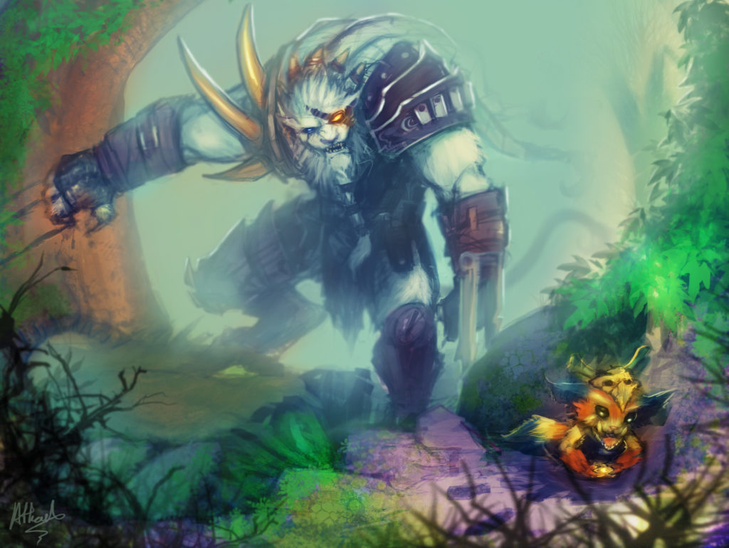 Rengar & Gnar wallpaper
