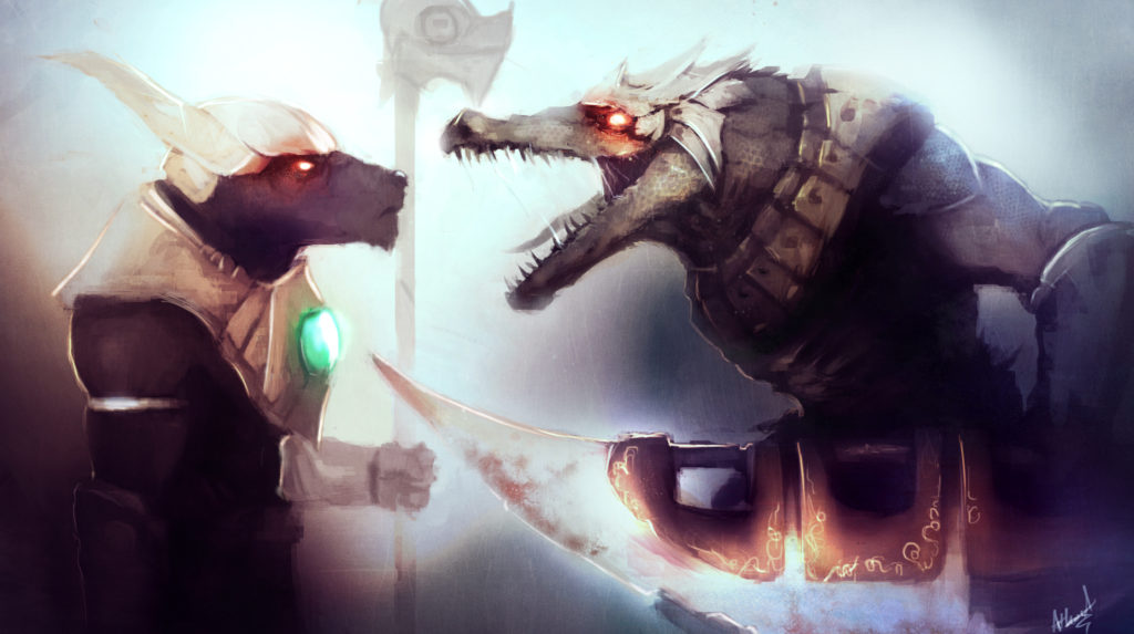 Nasus vs Renekton wallpaper