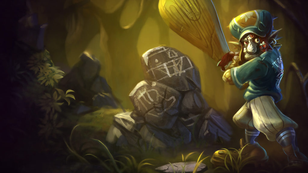 Lil' Slugger Trundle Old Splash Art wallpaper