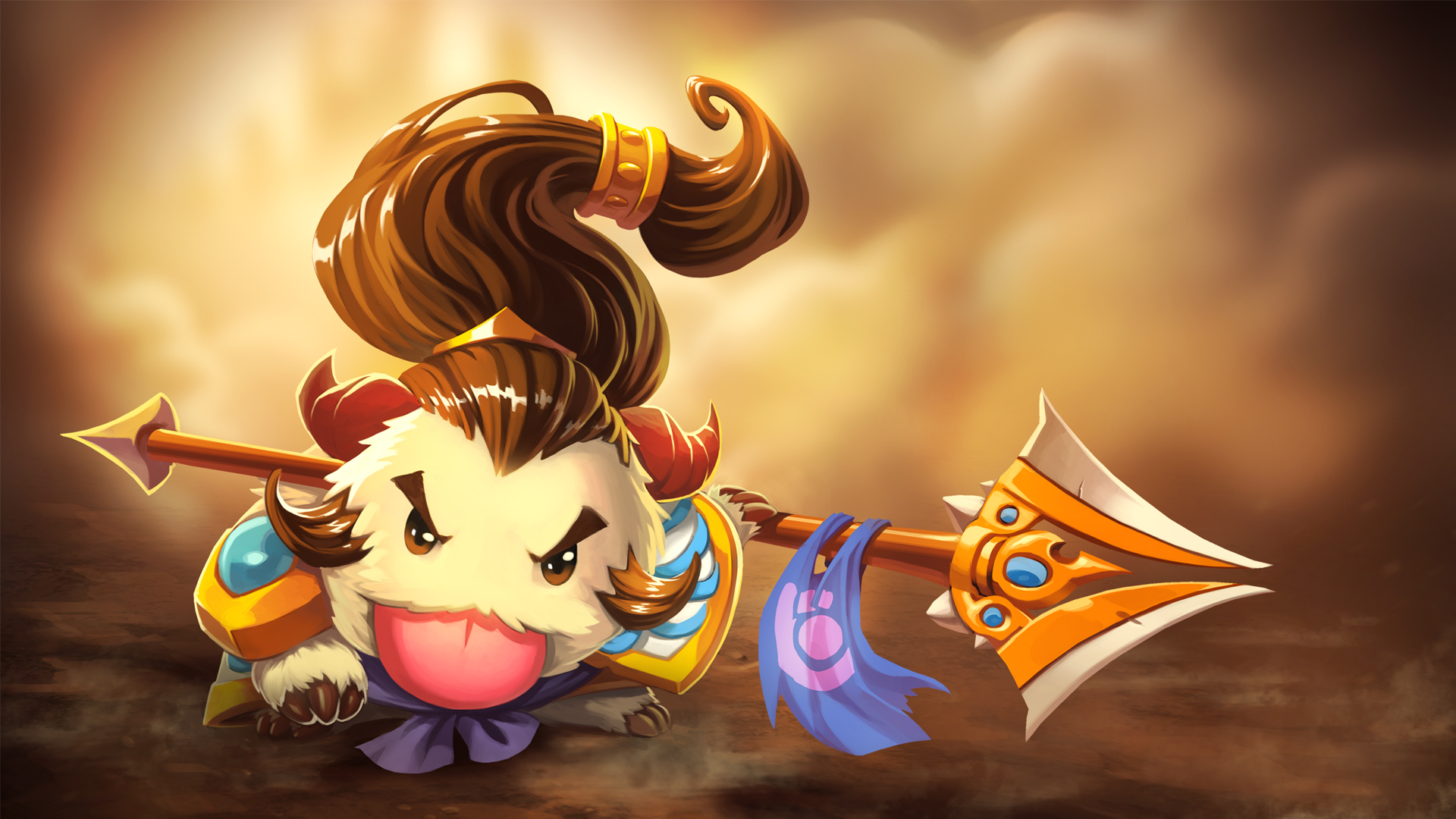 Xin Zhao Poro wallpaper