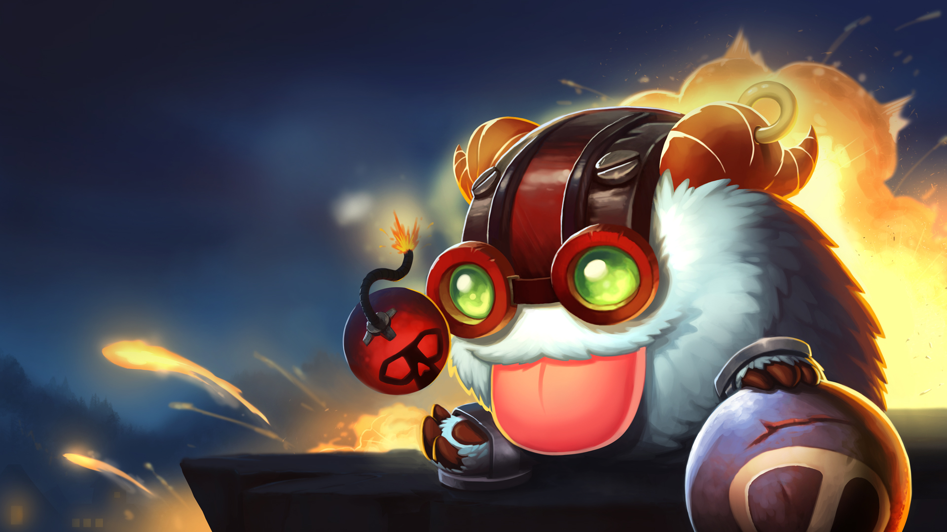 Ziggs Poro wallpaper