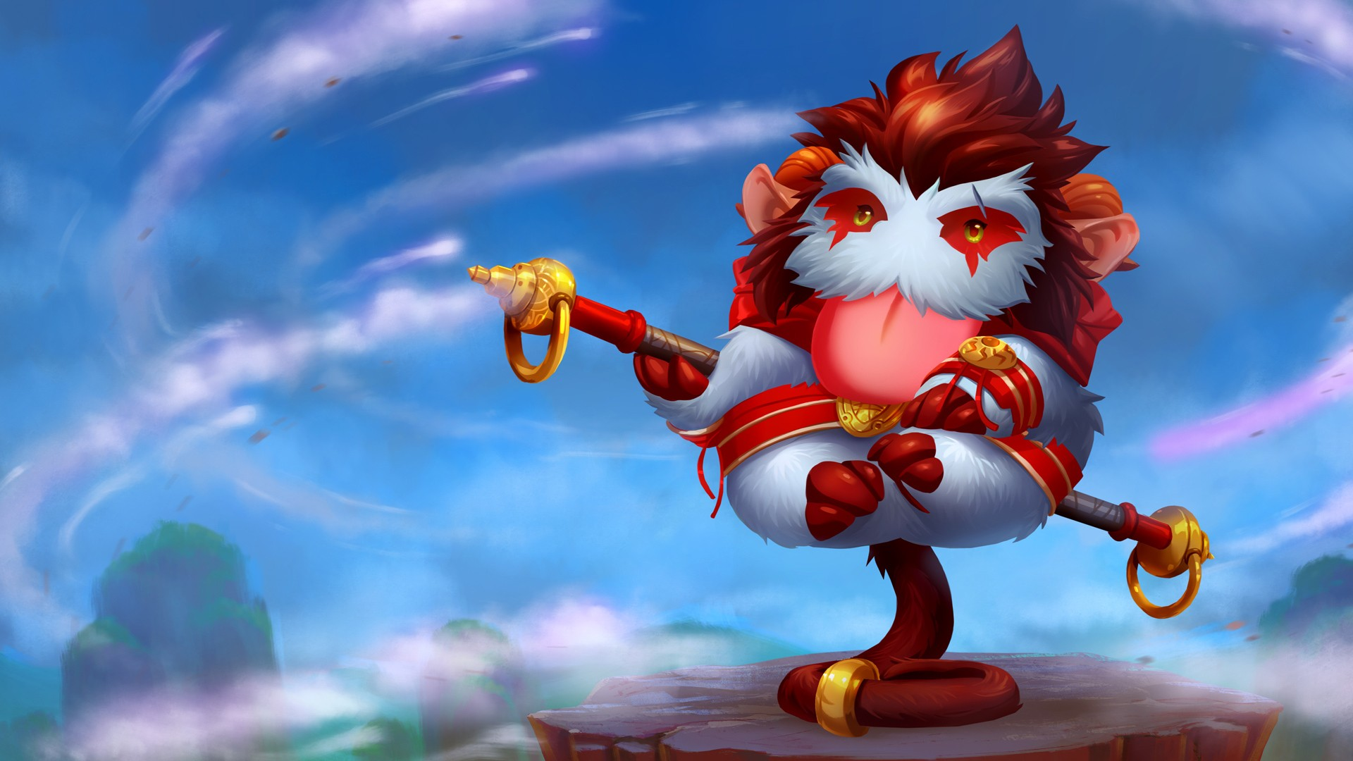 Wukong Poro wallpaper