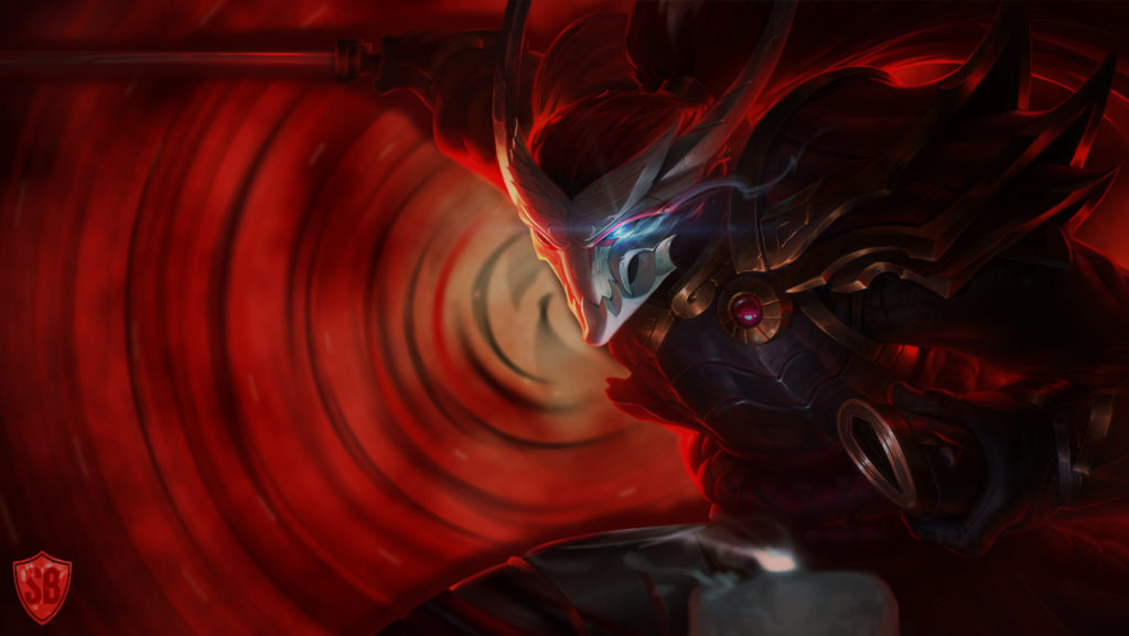 Blood Moon Yasuo wallpaper