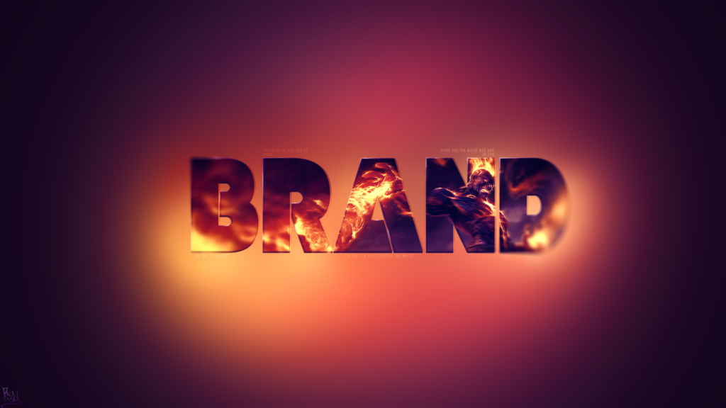 Brand wallpaper