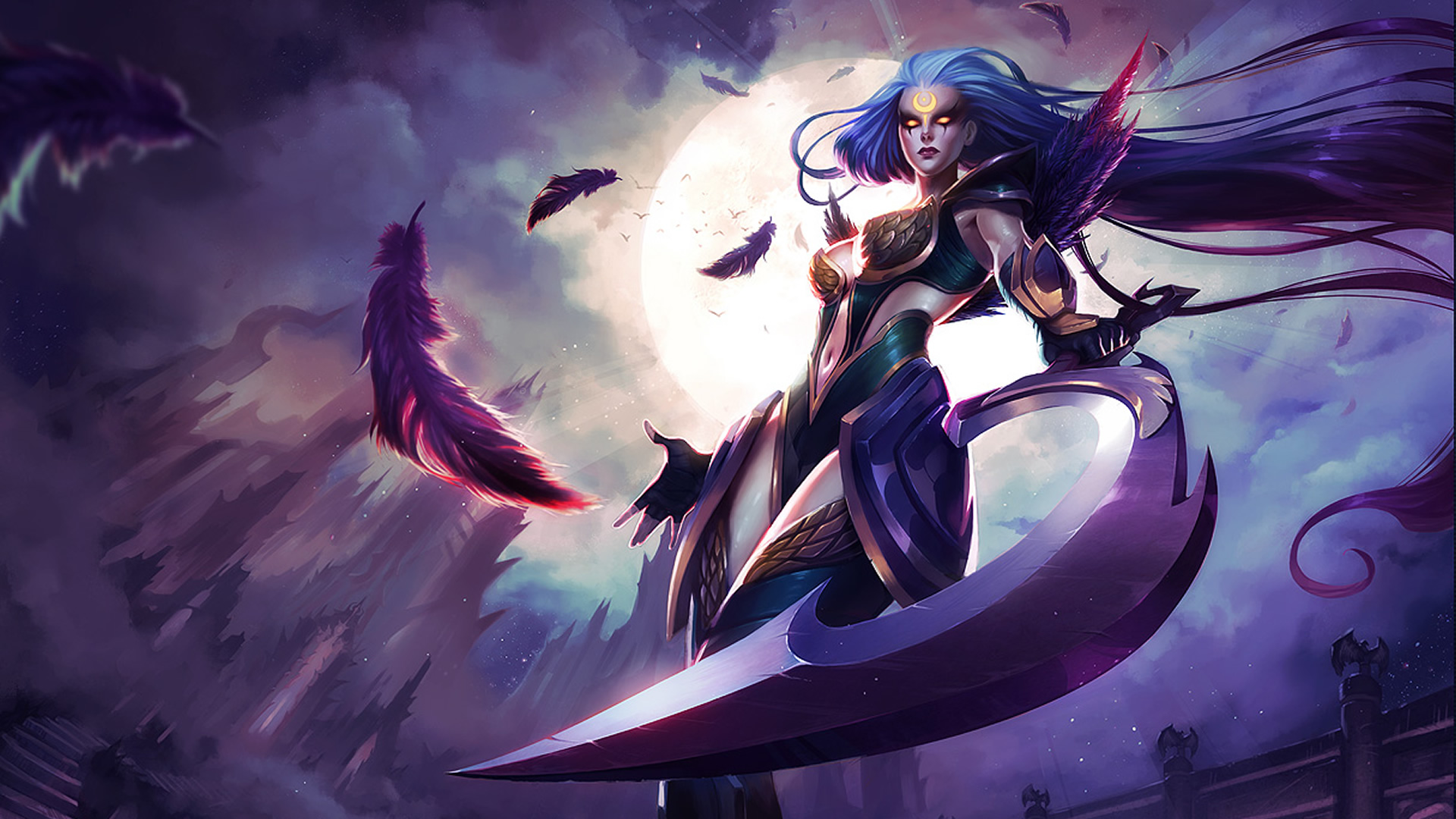 Dark Valkyrie Diana wallpaper