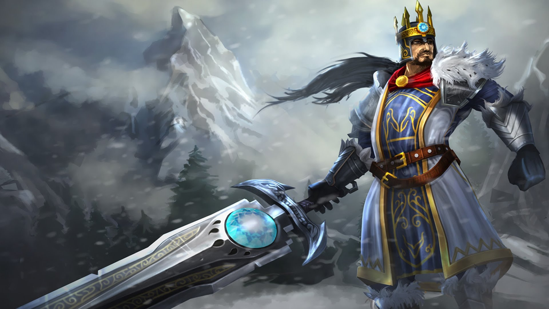 King Tryndamere wallpaper
