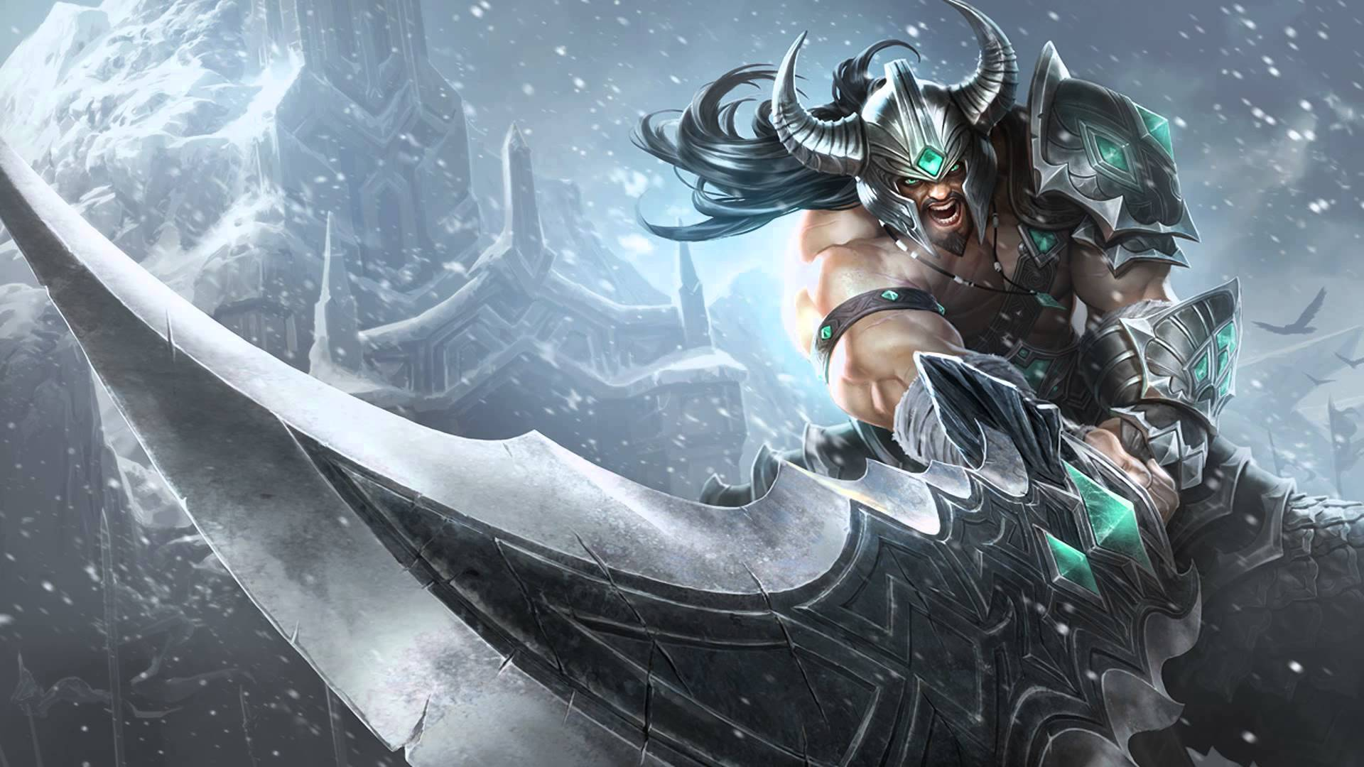 Tryndamere Classic Skin wallpaper