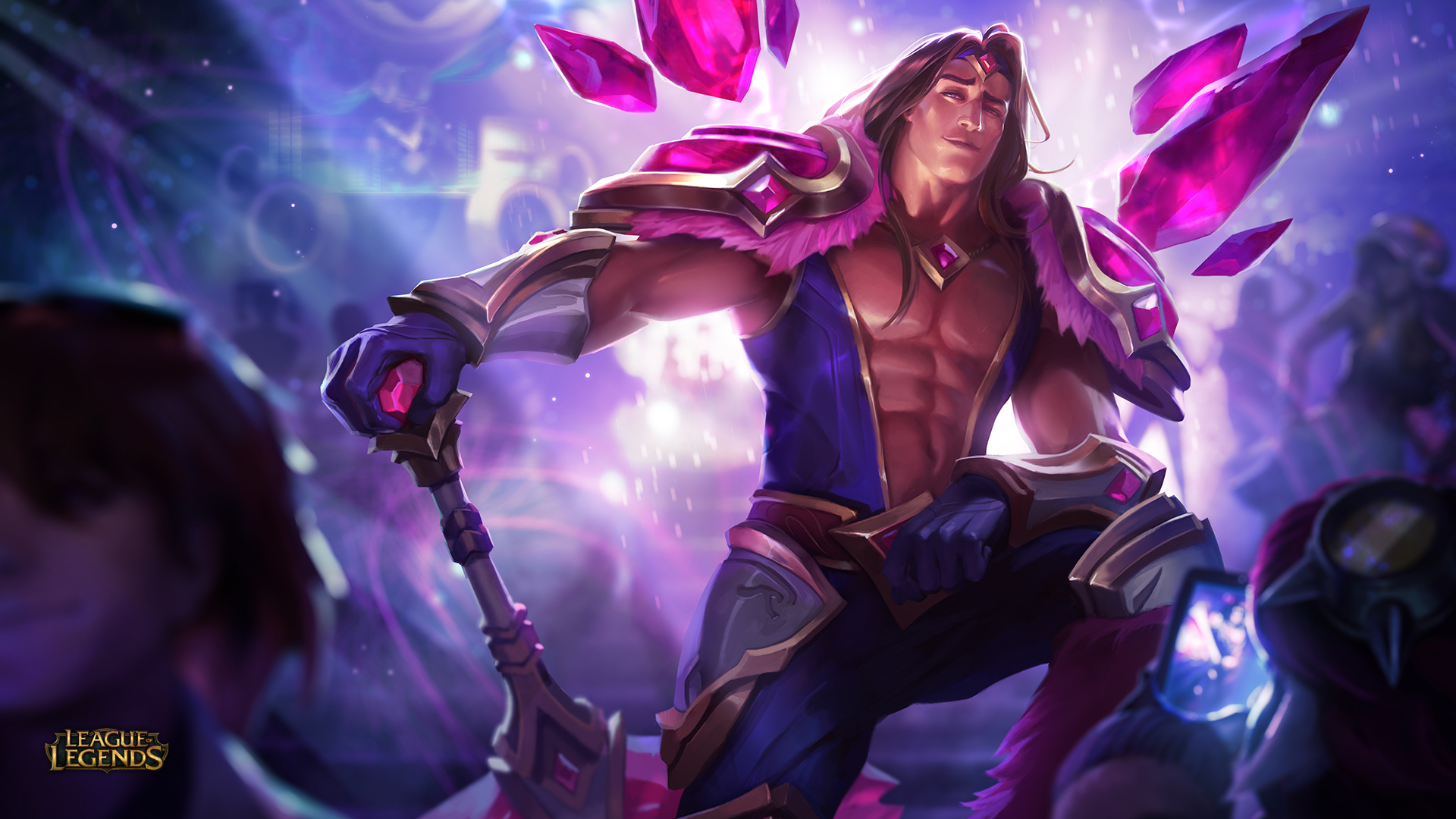 Armor Of The Fifth Age Taric wallpaper