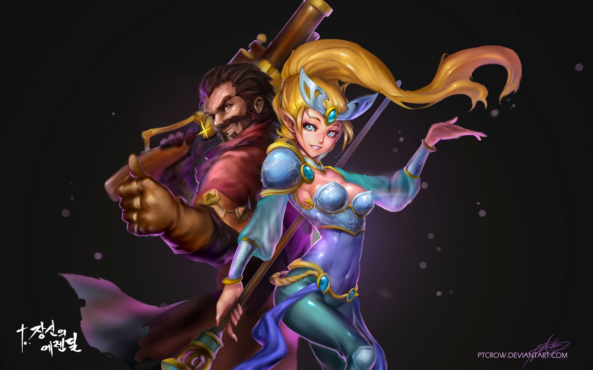 Graves & Janna wallpaper