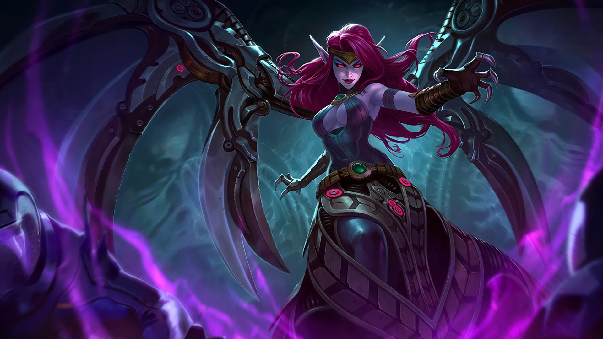 Blade Mistress Morgana wallpaper
