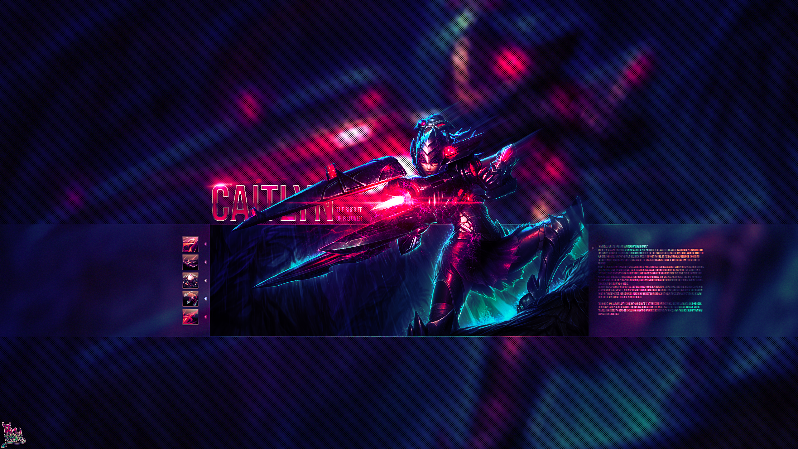 Headhunter Caitlyn wallpaper