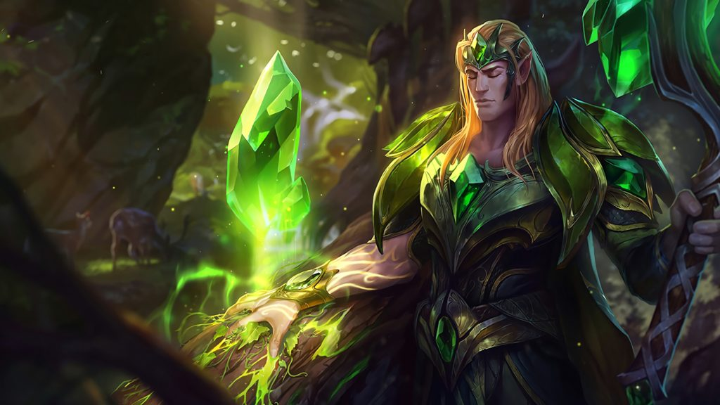Emerald Taric wallpaper