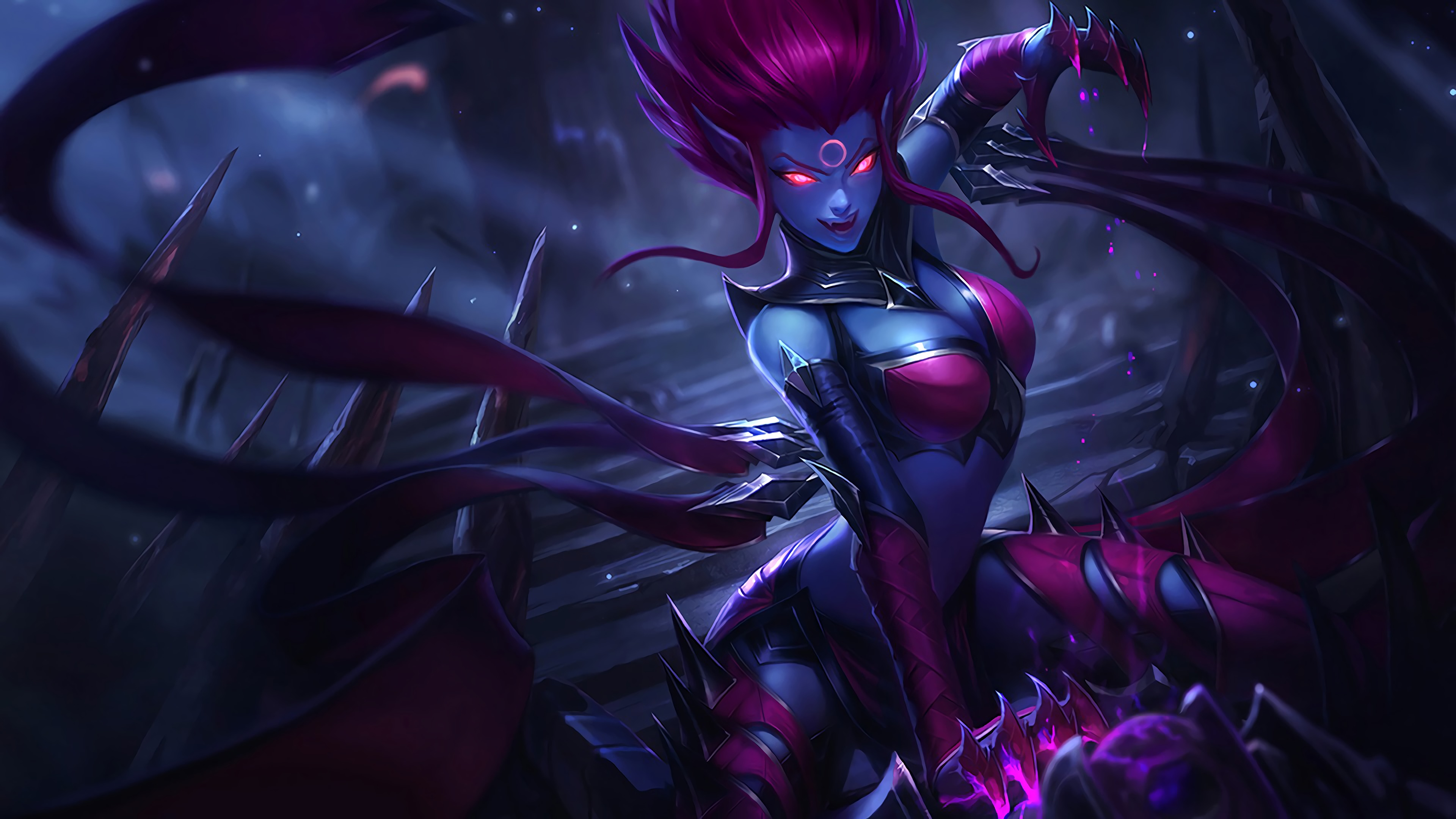 Evelynn Classic Skin  Lolwallpapers-3926