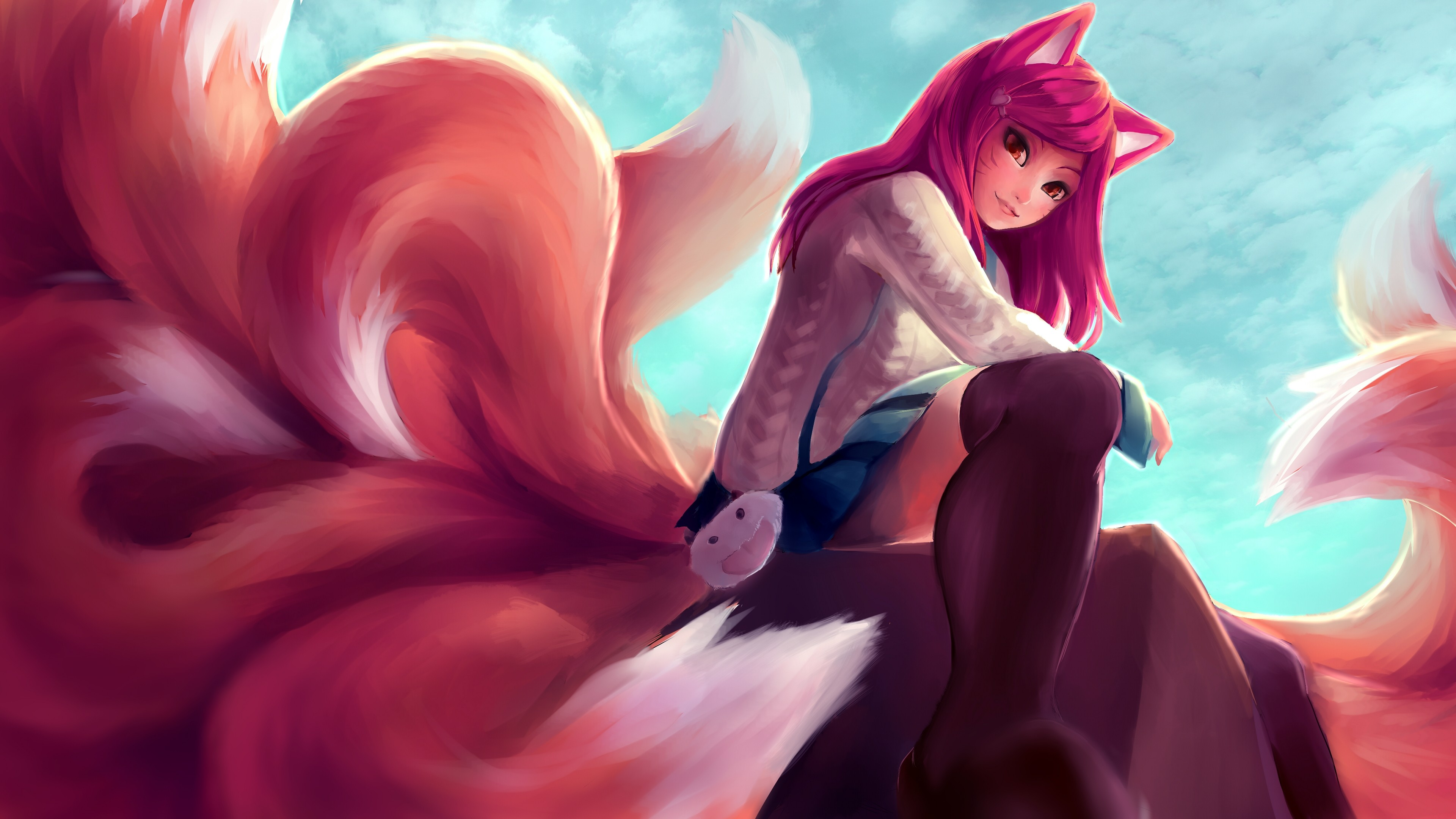 Academy Ahri wallpaper