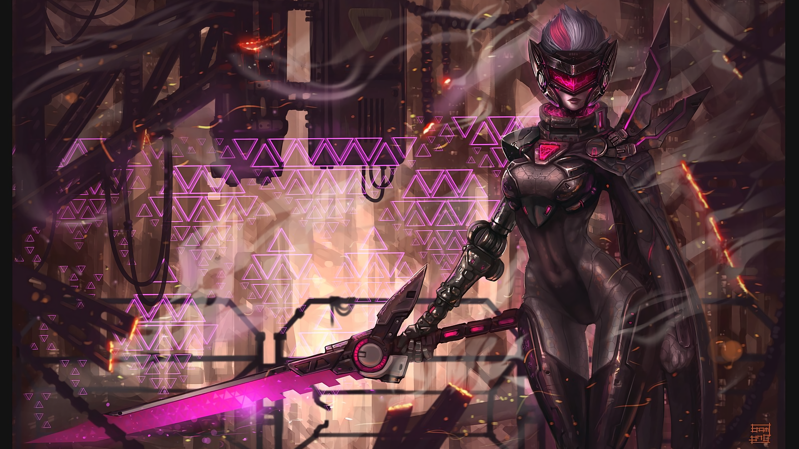 PROJECT: Fiora wallpaper