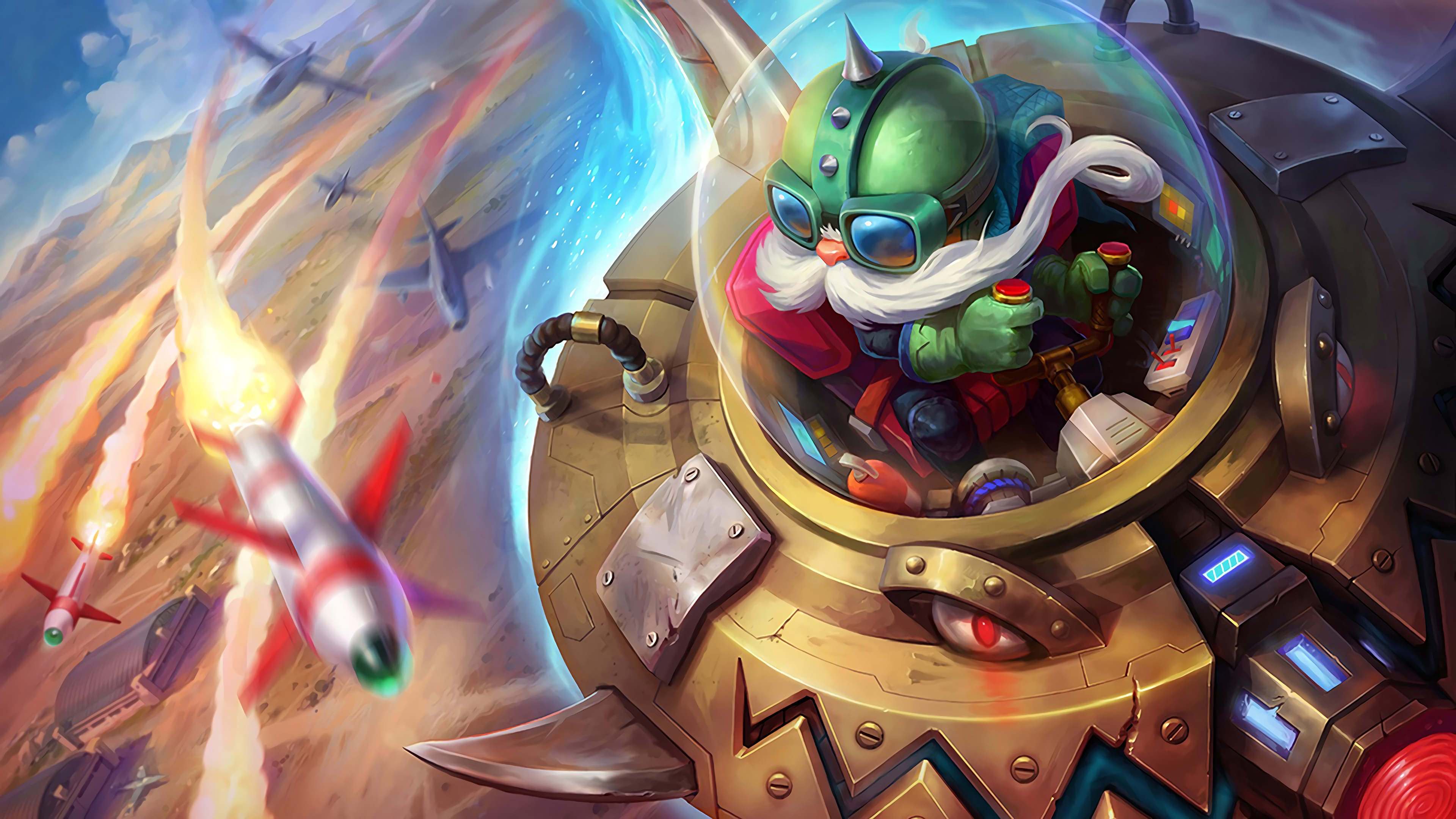 UFO Corki wallpaper
