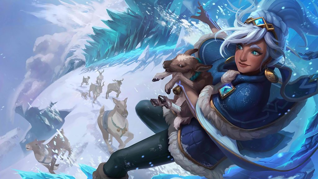Freljord Taliyah wallpaper