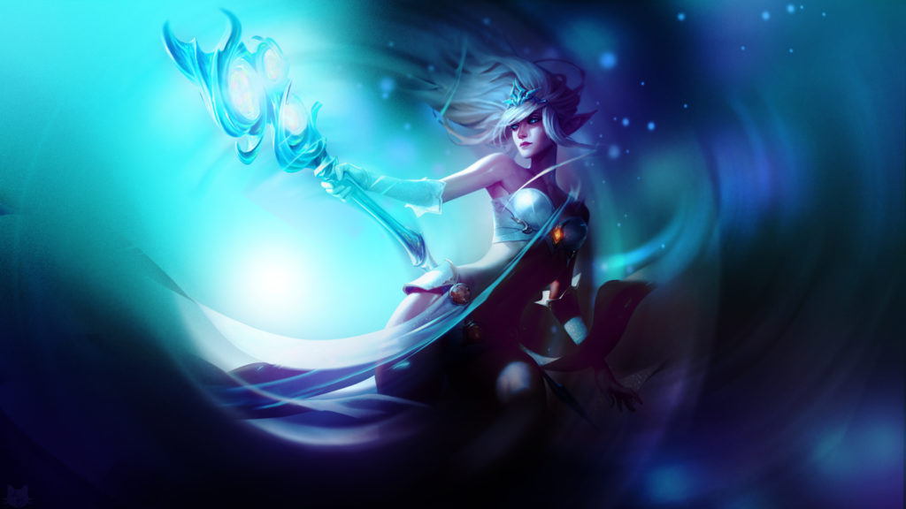 Frost Queen Janna wallpaper