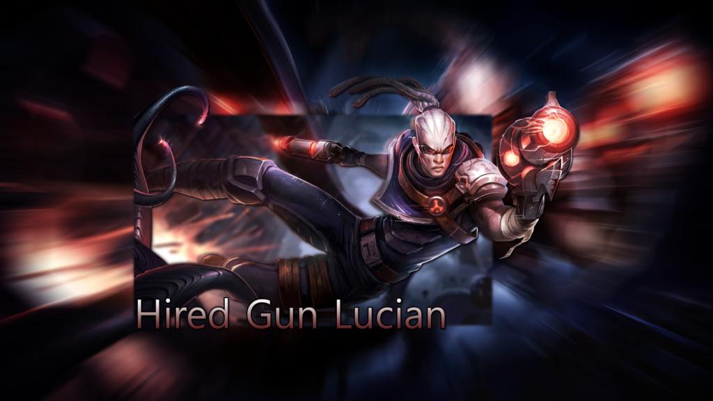 Hired Gun Lucian wallpaper