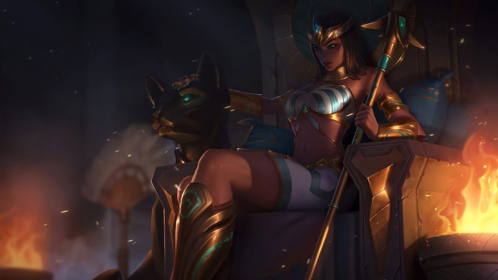 Pharaoh Nidalee wallpaper