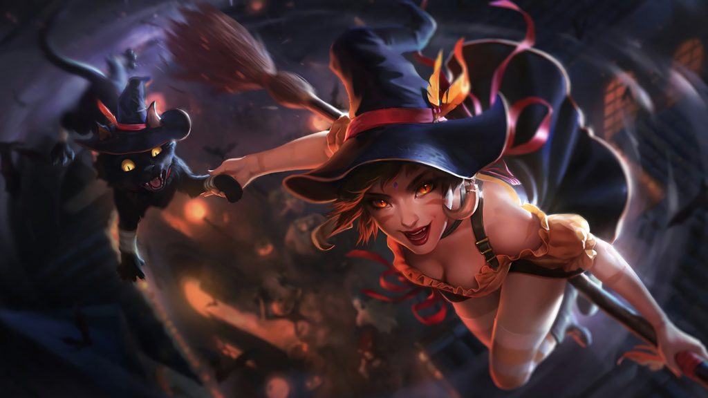 Bewitching Nidalee wallpaper