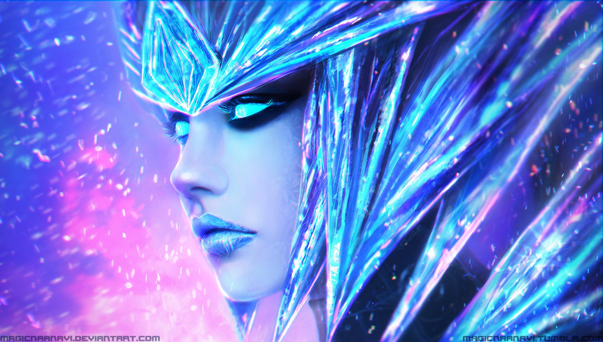 Ice Drake Shyvana wallpaper