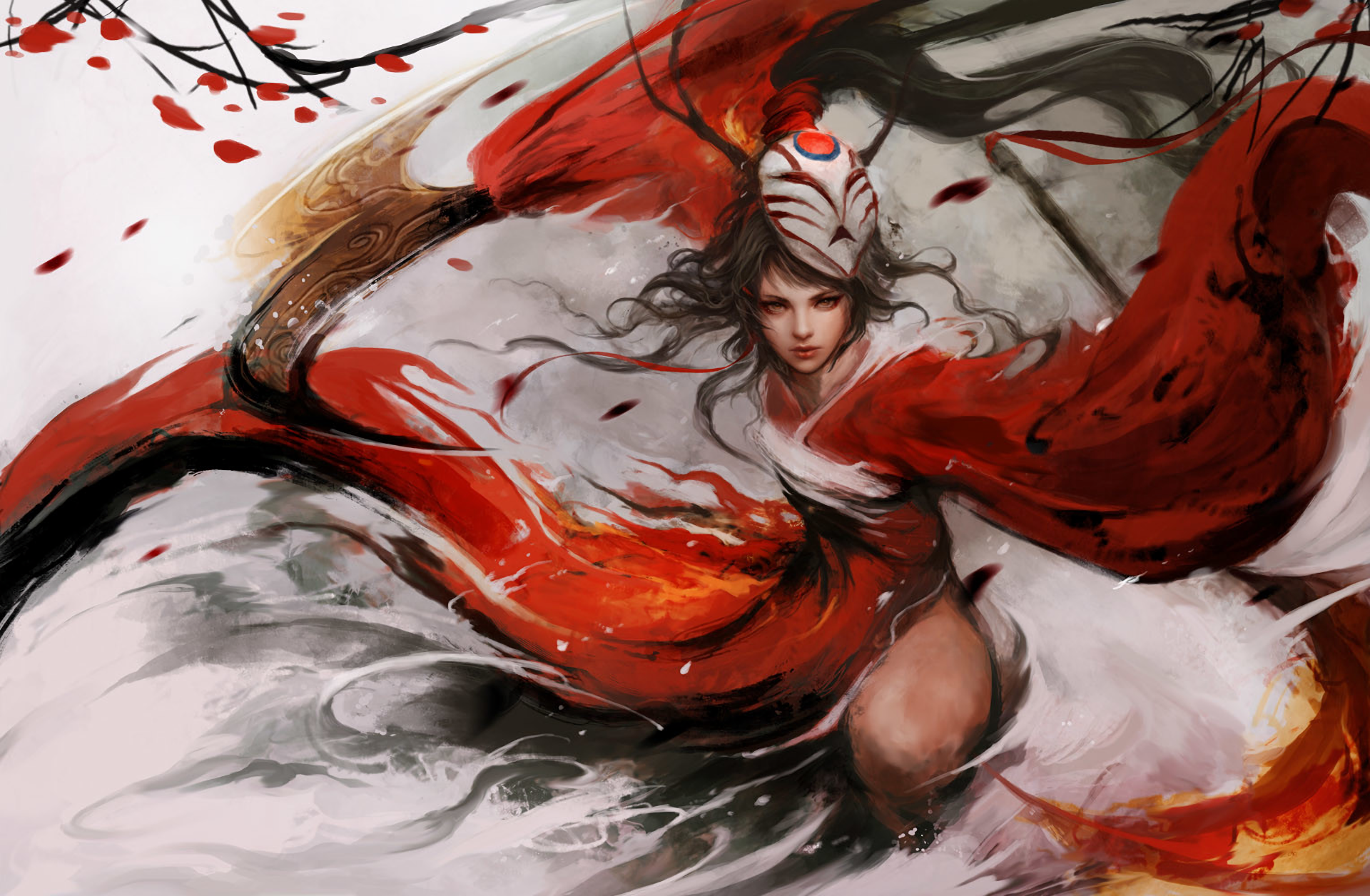 Bloodmoon Akali wallpaper