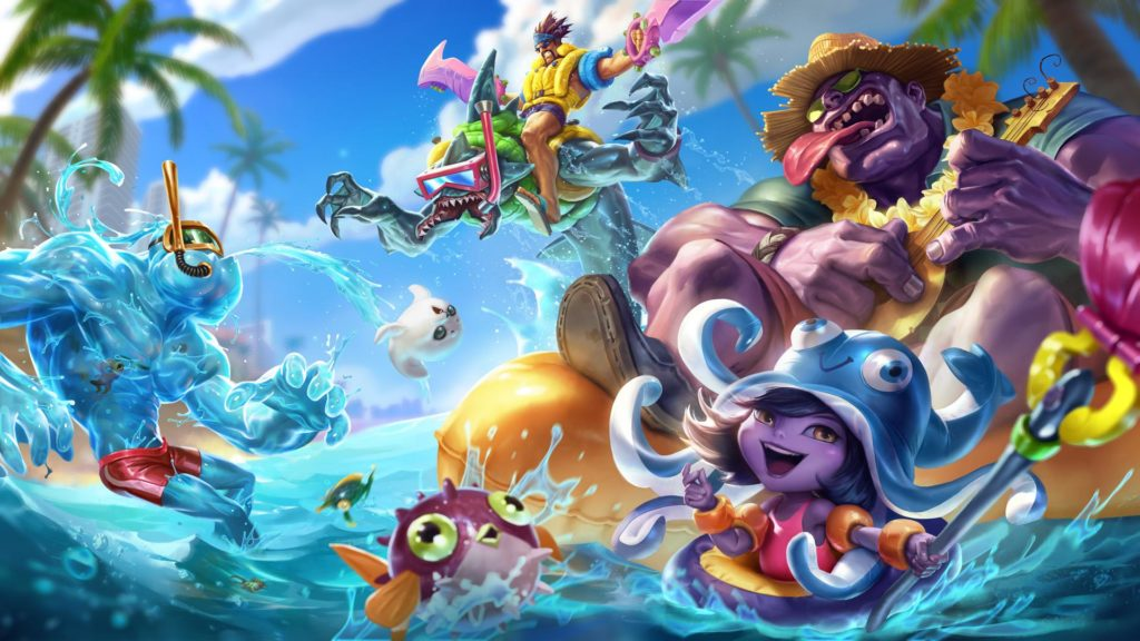 Pool Party Rek'Sai wallpaper