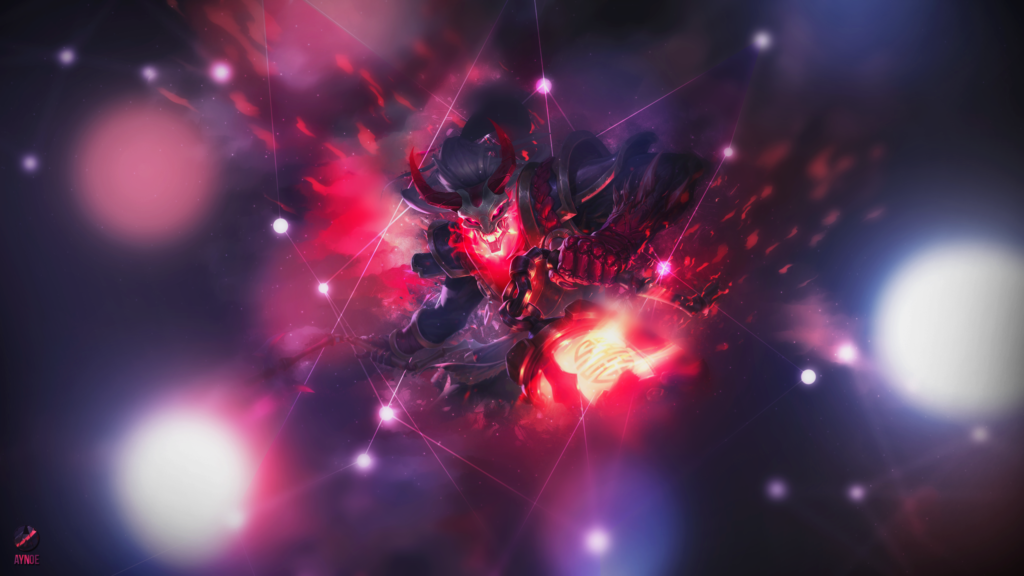 Blood Moon Thresh wallpaper