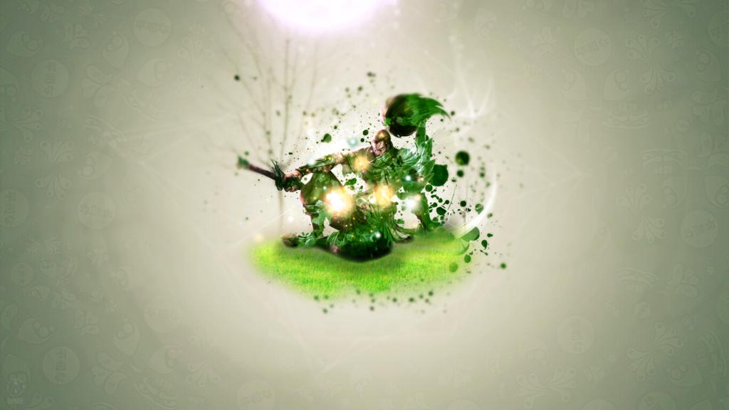 Yasuo Green Edition wallpaper