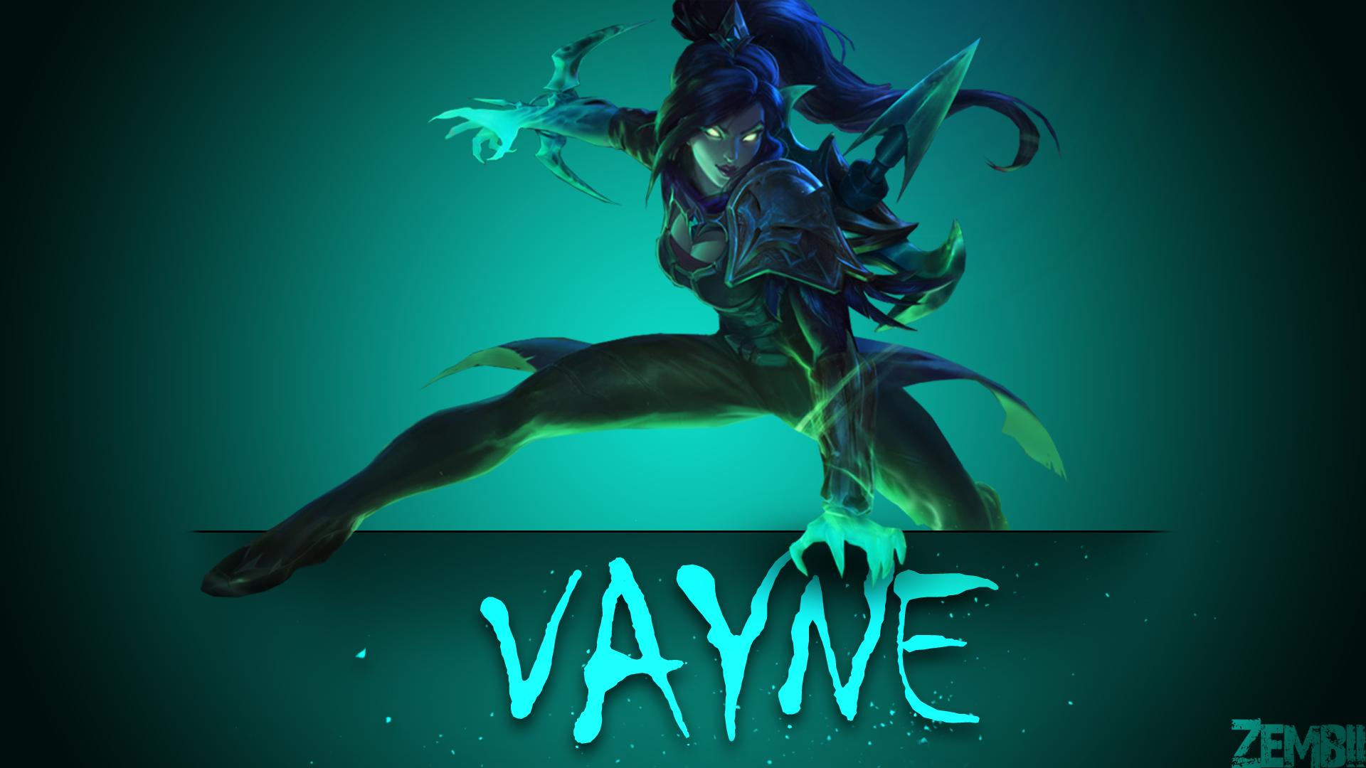 Soulstealer Vayne wallpaper