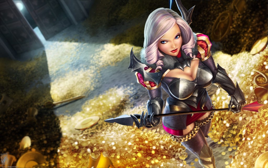 Heart Marauder Ashe wallpaper
