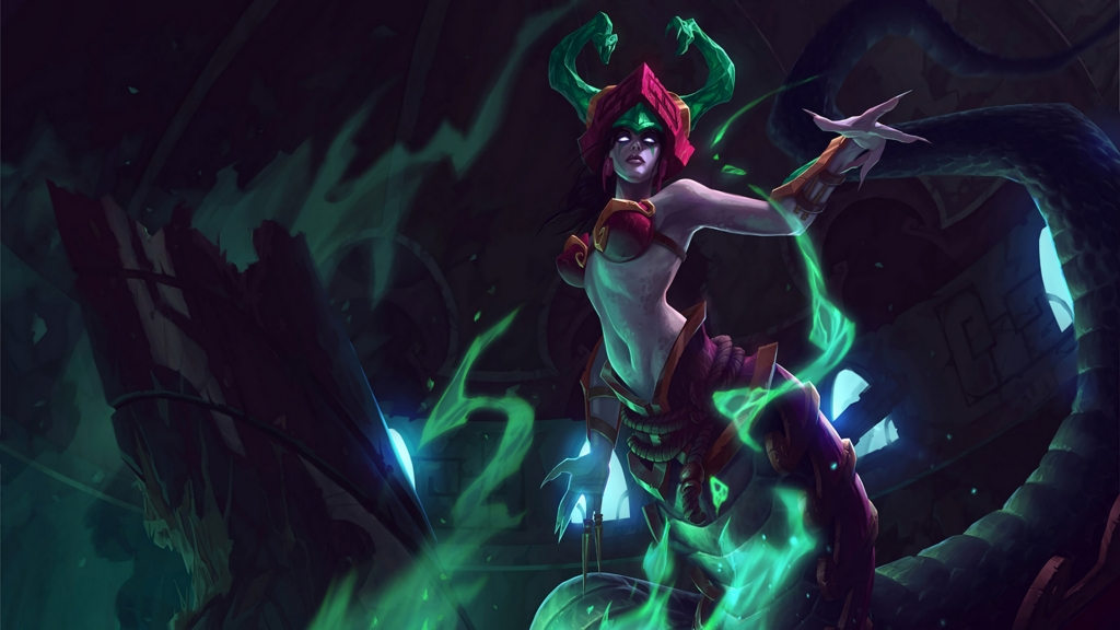 Jade Fang Cassiopeia wallpaper