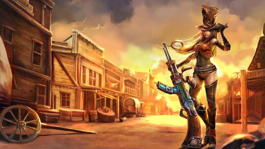 Sheriff Caitlyn wallpaper