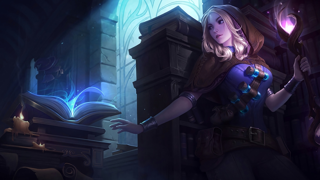 Spellthief Lux wallpaper