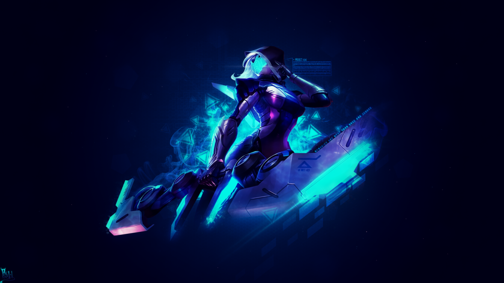 PROJECT: Ashe wallpaper