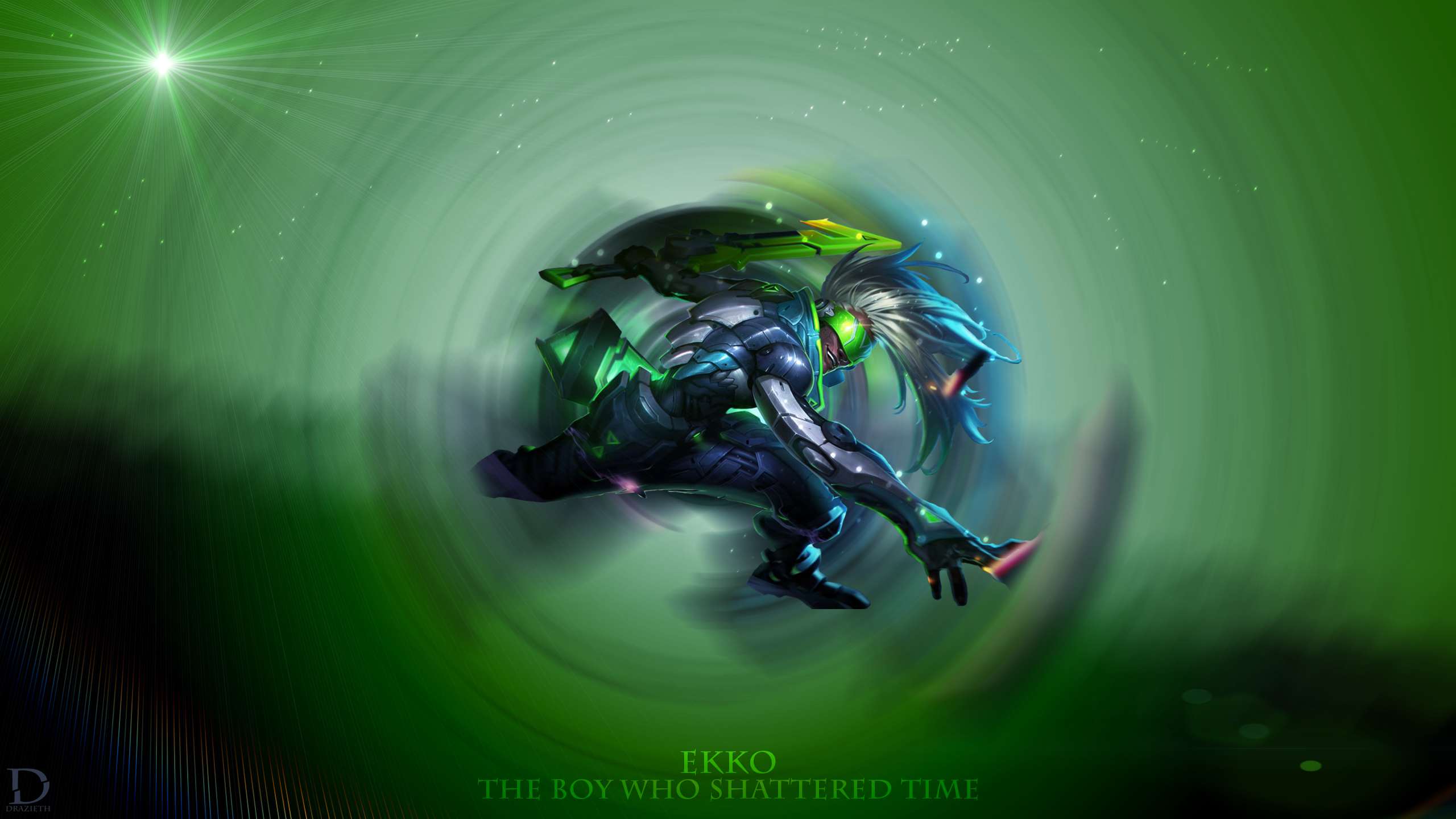 Project Ekko wallpaper